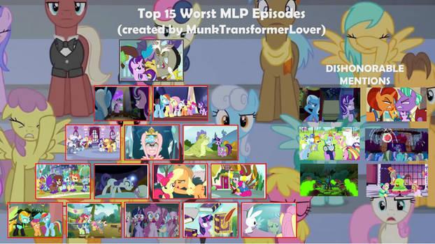 Top 15 Worst Episode of MLP FiM