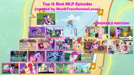 Top 15 Best Episodes of MLP FiM