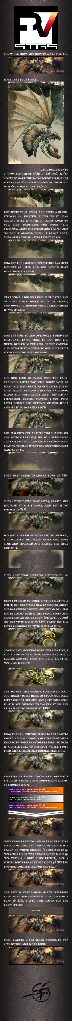 Full Sig Tutorial: Metalbug by FirePenguinMaster