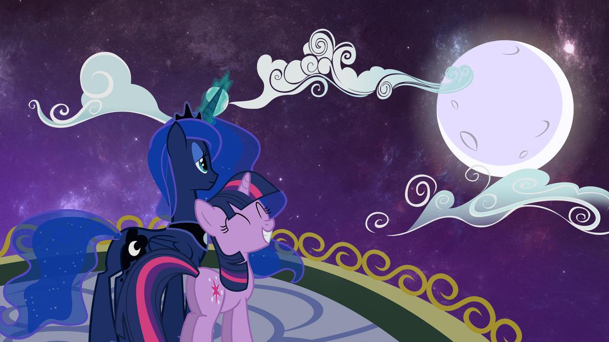 Luna and Twilight by RikiTheSuperZeldaFan