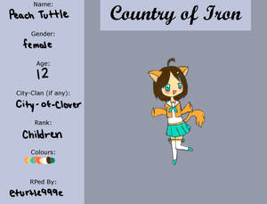 Country of Iron: Peach Tuttle