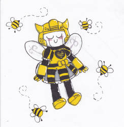bumbles by Cookie-Waffle