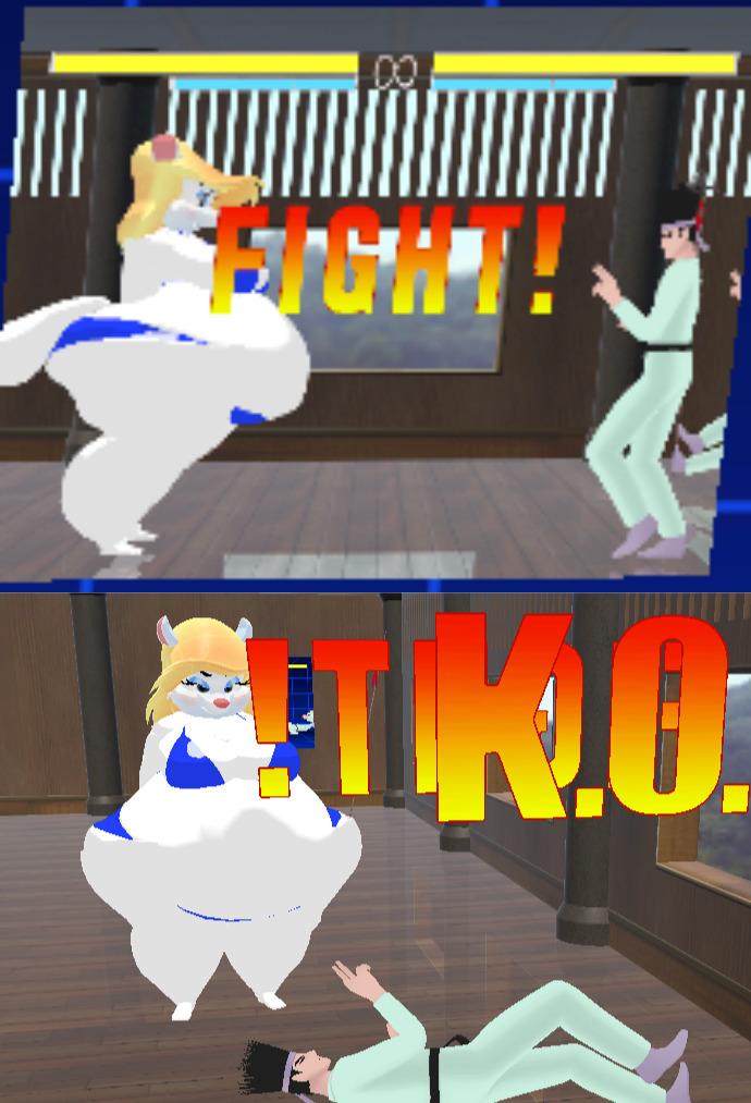 MUGEN - BBW vs Kung Fu Man ( VRChat ) by randomname19