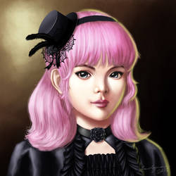 Pink-haired Girl