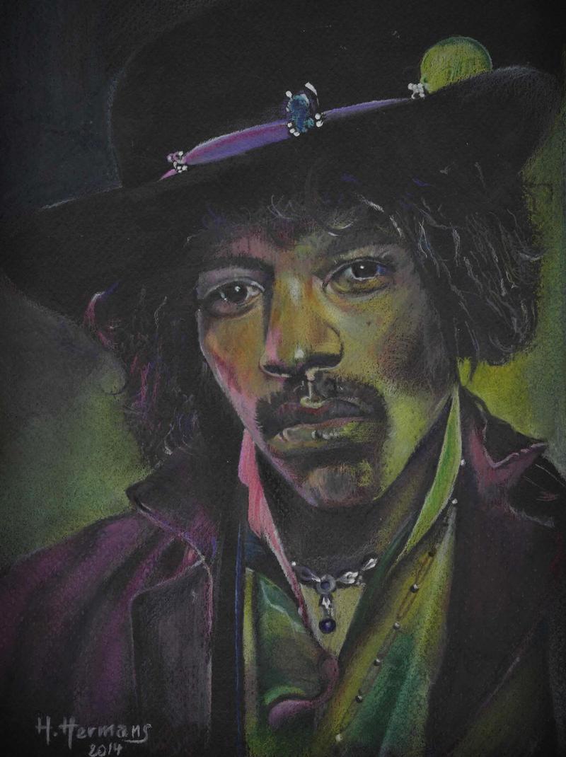Jimi Hendrix by HendrikHermans