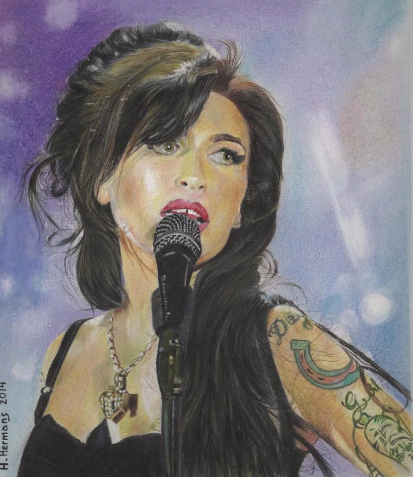 Amy Winehouse by HendrikHermans