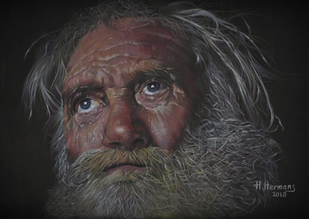 Wise old man by HendrikHermans