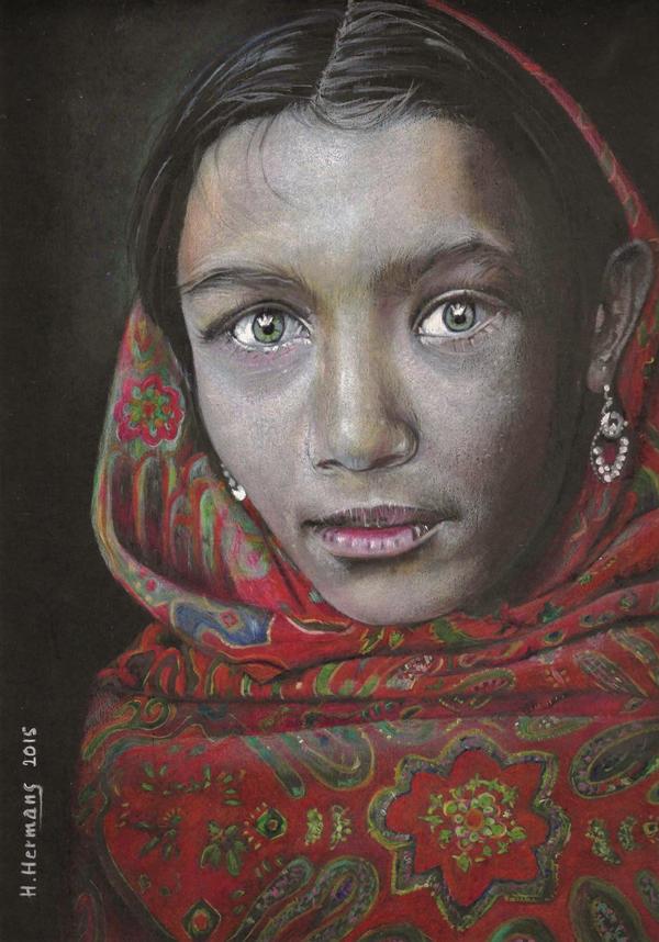 ETHNIC : Bangladeshi girl by HendrikHermans