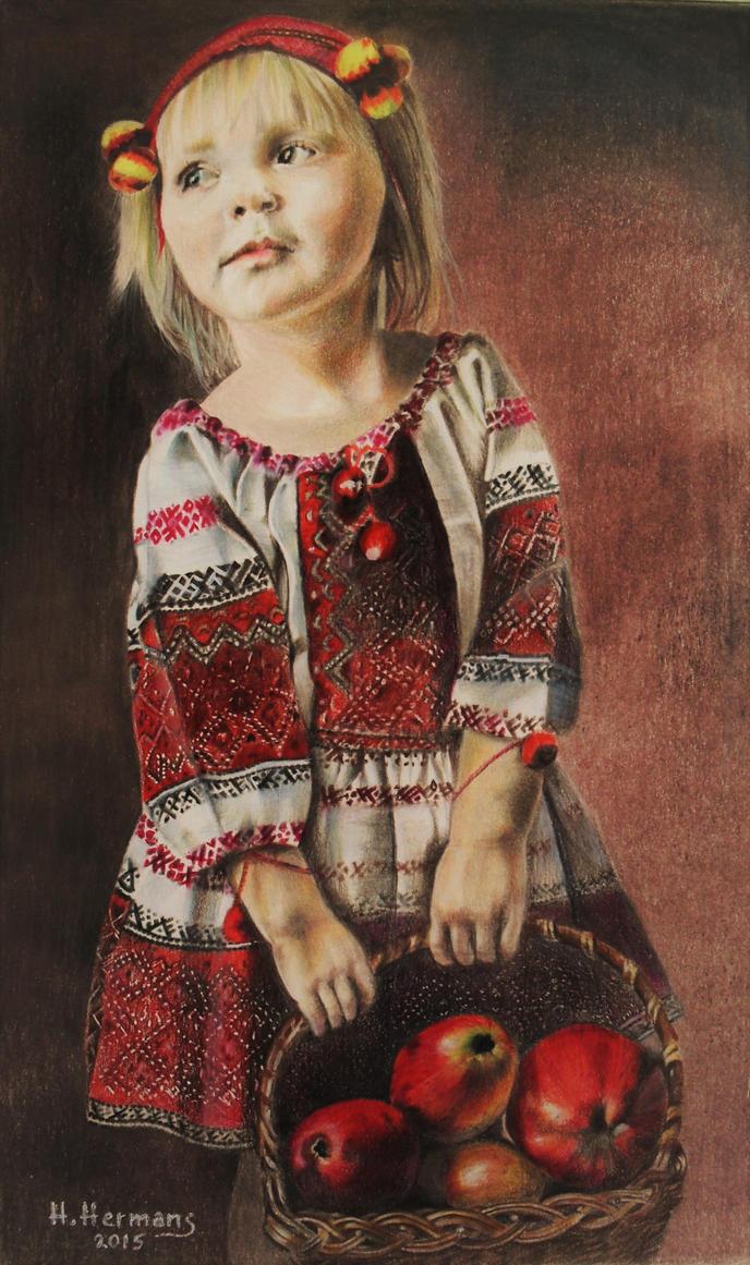 ETHNIC : Ukrainian girl by HendrikHermans
