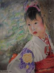 ETHNIC : Girl in Kimono (Japan) by HendrikHermans