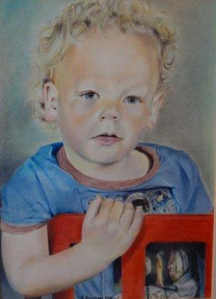 MATS , my godchild by HendrikHermans