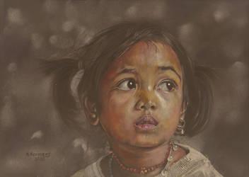 Asian girl by HendrikHermans