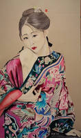 Chinese traditional girl