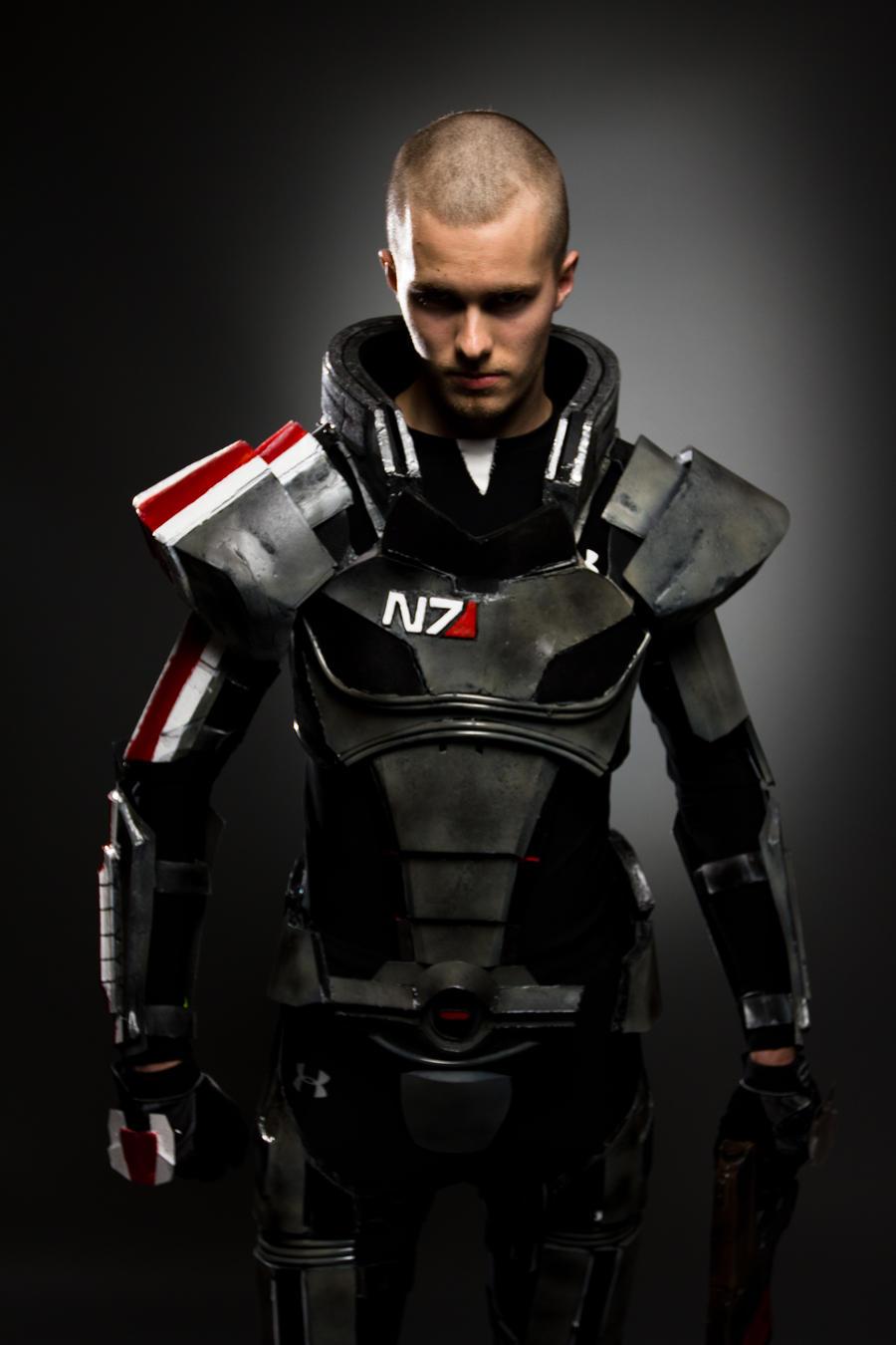 Commander Shepard Stare