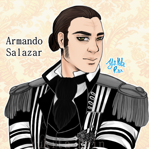 Armando Salazar - Pirates of the caribbean by Yukita-Rain