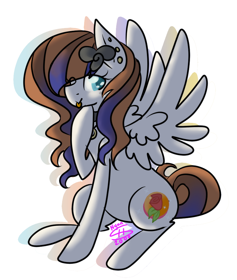 Sassy Pony [Commission] by Nyan-Adopts-2000