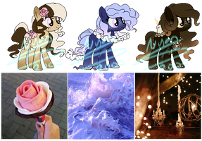 MLP Aesthetic Auction Adopts #2 CLOSED by Nyan-2000