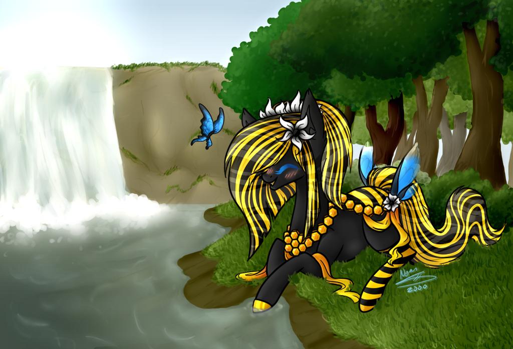 Pond ponies blog deviantart for Nyan koi pool