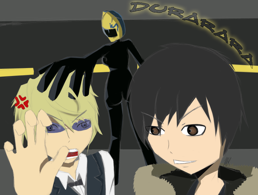 Durarara Celty And Shizuo | www.imgkid.com - The Image Kid ...