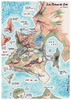 Los Reinos del Este - Crossover Map