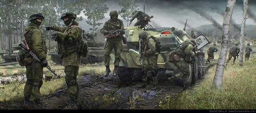 Tom Clancy's Command Authority - Invading Estonia by BurenErdene