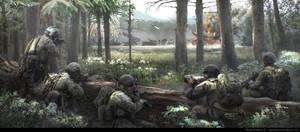 Tom Clancy's Command Authority - Forest Hunters by BurenErdene