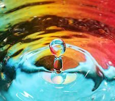 rainbow splish by CaryM