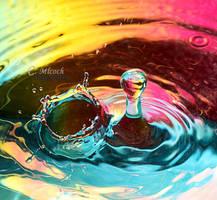 rainbow splash by CaryM