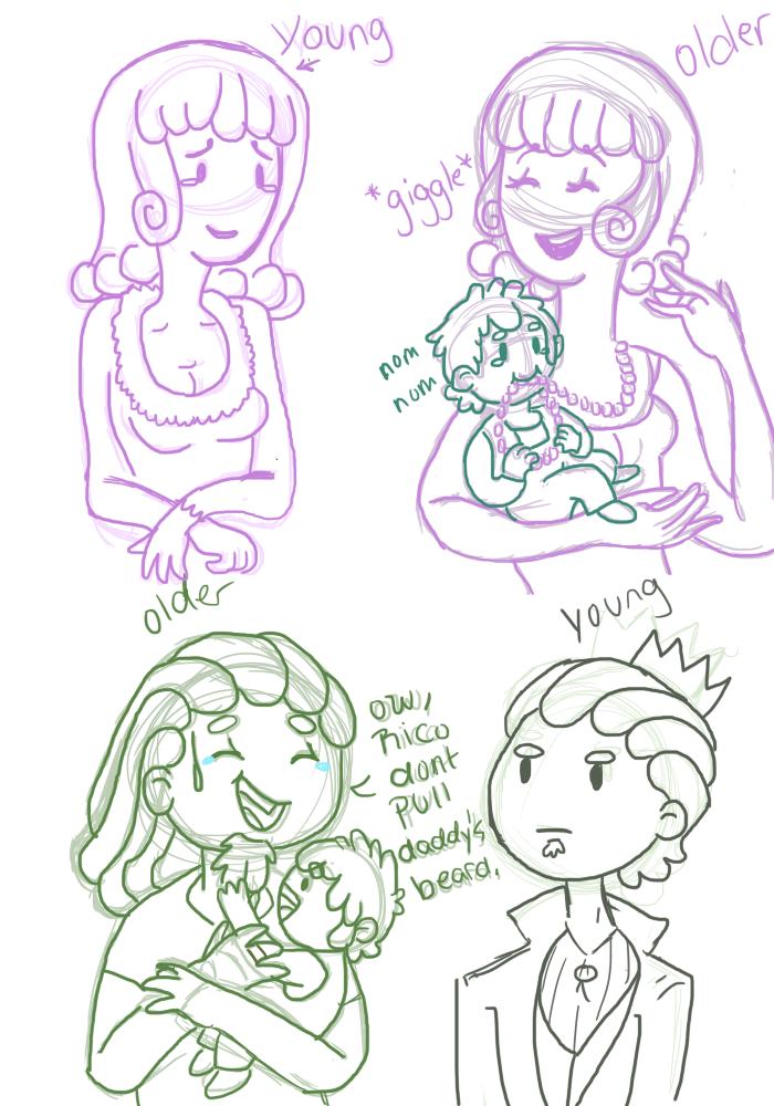 Parents sketch by AskSpumoni
