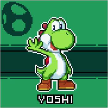 Yoshi!! by PsychoDino3