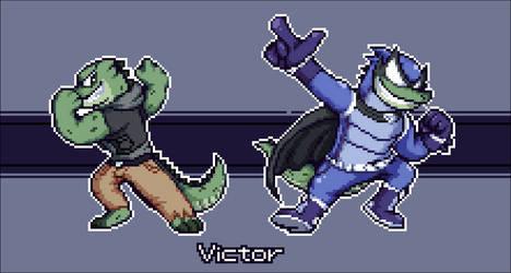 Victor The Super Crocodile! by PsychoDino3