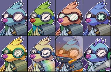ll PixelArt ll MoleDiver (Team Fight Tactics) by PsychoDino3