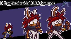 ll PixelArt ll Sonic Battle (KingKodo/xfluffypupx)