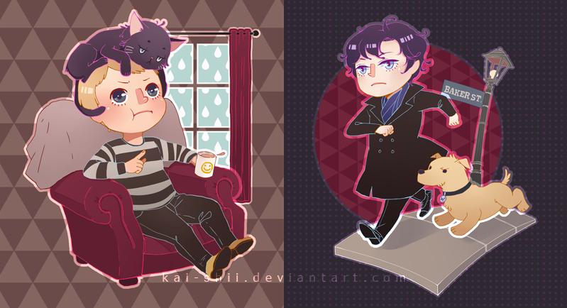 Sherlock: If they were pets by kai-shii