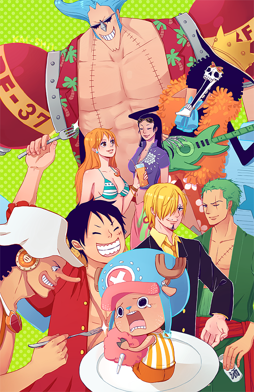 One Piece - 2012! by kai-shii