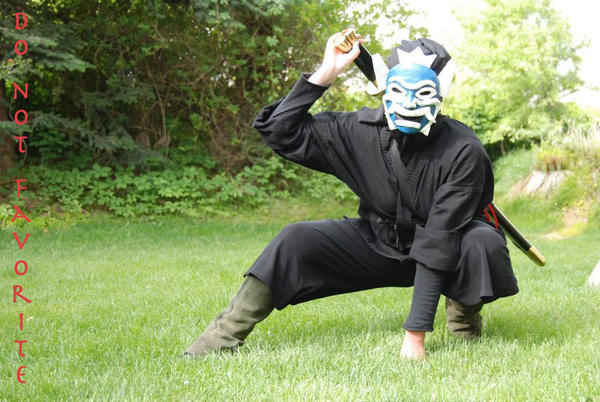 Crouching Blue Spirit by Avatar-Cosplay-Club on DeviantArt