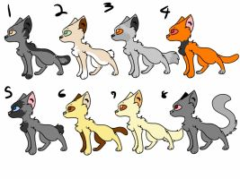 Free Official Cat Adoptables  [Closed] by skygalaxydark