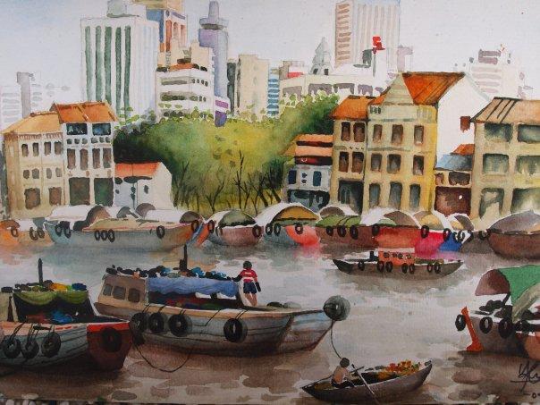 Port Quay by missmiakomyori