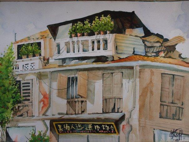 Chinese Shop House by missmiakomyori