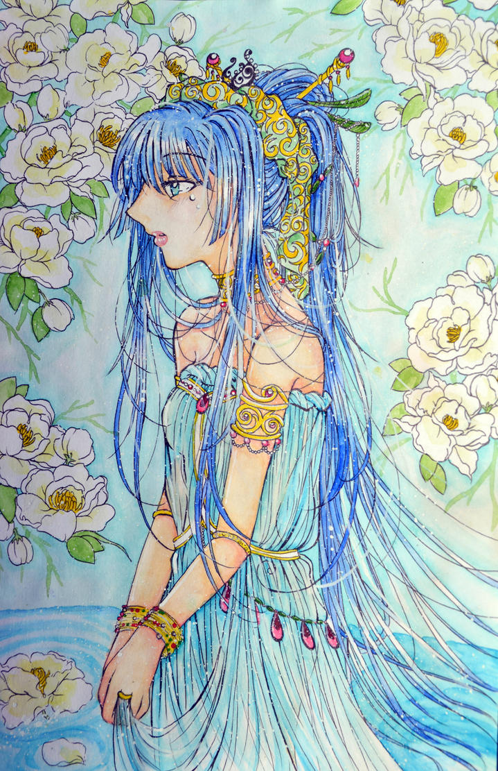 Bride of the water god by missmiakomyori