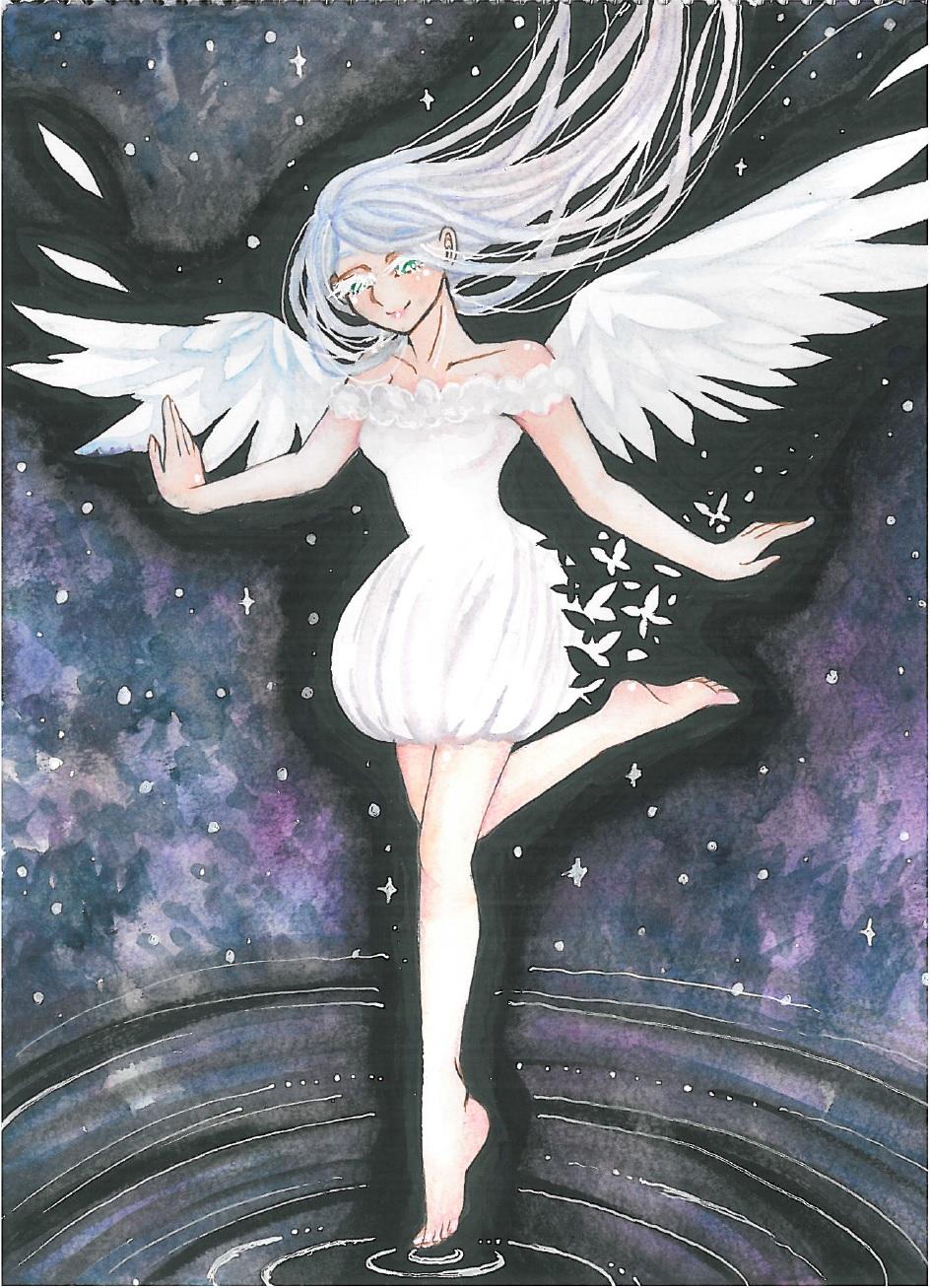 angel by missmiakomyori