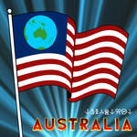 Earthican Flag (featuring Australia)