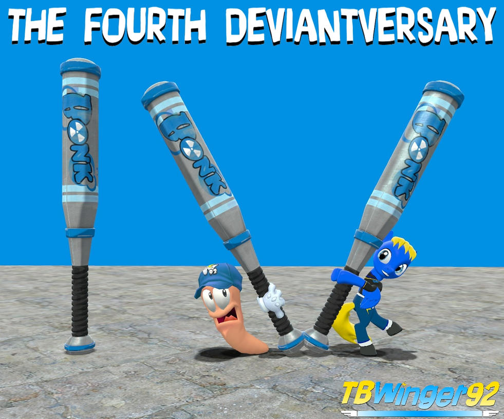 The Fourth Deviantversary by TBWinger92