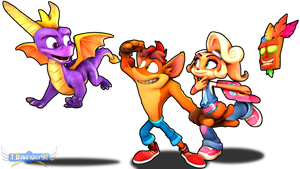 Crash and Coco: Spyro Jam