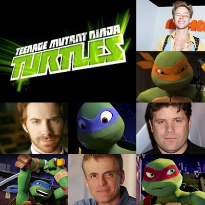 TMNT - 2012 - Actors and Characters (updated) by ririmania1335
