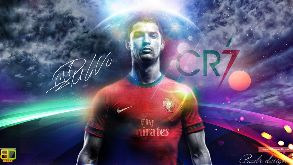 CR7 Wallpaper by Badr-...