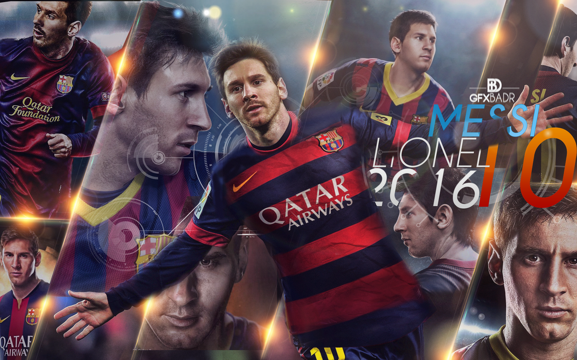 Wallpaper Messi New 2016 By Badr DS