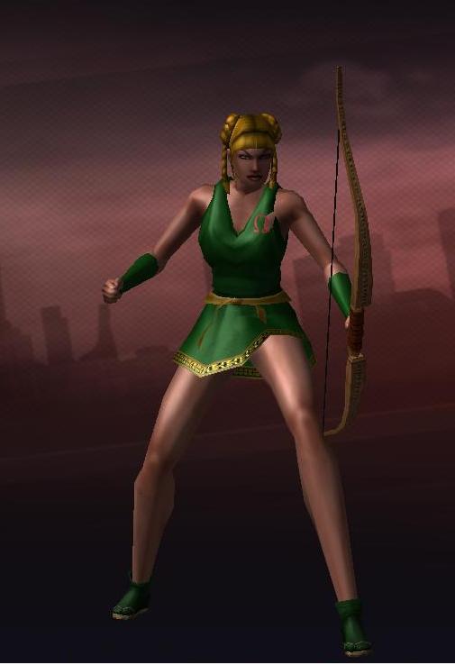 City of Heroes: Diana by CaptFox