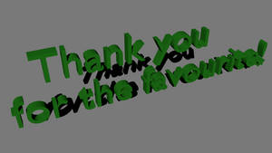 Thank you for the favourite! by Abedshehabi