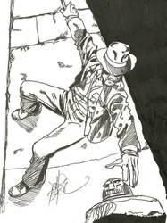 WSC 9.6-7.14 Inking Indiana Jones